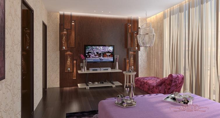 Дизайн комнаты модной девушки