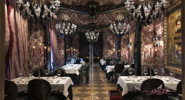 Дизайн интерьеров ресторанов в эко стиле 175
